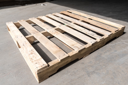 48 in. x 44 in. Used Wood Pallets (Qty of 5 Pallets)