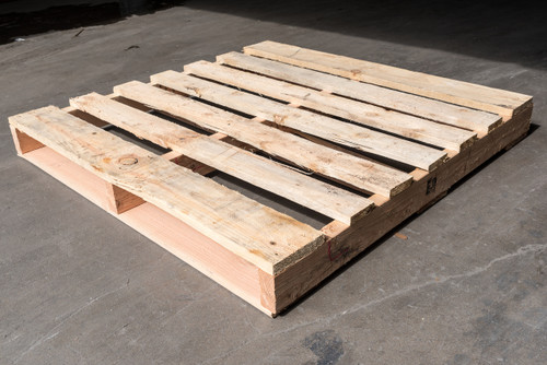 44 in. x 44 in. Used Wood Pallets (Qty 5 Pallets)