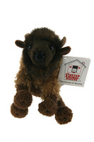 "Stuffed Animal House 6"" Baby Shaggy Buffalo Floppyfoot Friends Plush Furry Toy"