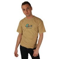 Life is Good Ford Brown Bed & Breakfast Tent Fire Pit Cooking Camping Tee Crusher Mens Short Sleeve T-Shirt Nature Outdoor Top