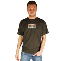 Life is Good Espresso Brown Ride On License Plate Motor Bike T-Shirt Crusher Short Sleeve Tee Motorcycle Mens Top