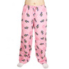 Life is Good Perfect Pink Chilly Rocket Dog Pajamas Lounge Pants Ladies Sleepwear Sleep PJs Loungepants Coins Scarf Earmuffs Drawstring
