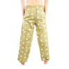 Life is Good Artichoke Green Golf Icon Ball Tee Pajama Lounge Sleep Pants Sleepwear Mens Loungepants PJs Back