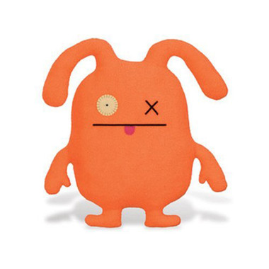 Uglydoll OX Orange Uglyverse Limited Edition 2009 90241 Soft Plush Stuffed Toy Doll