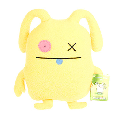 Uglydoll OX Yellow Uglyverse Limited Edition 2009 90221 Soft Plush Stuffed Toy Doll