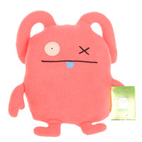 Uglydoll OX Red Uglyverse Limited Edition 2009 90231 Soft Plush Stuffed Toy Doll