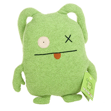 Uglydoll OX Lime Green Classic Ugly 2004 1009-1 Soft Plush Stuffed Toy Doll