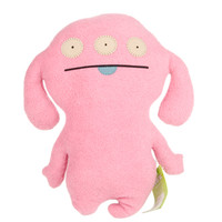 Uglydoll Pretty Pink Peaco 10161 Rare Classic Ugly Soft Plush Stuffed Toy Doll