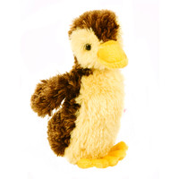 "Douglas Cuddle Toy 6"" Marsha Baby Mallard Duck Shiny  Brown Yellow Furry Soft Plush Stuffed Animal Barnyard Farm Rare Toy 1524"