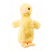 "Douglas Cuddle Toy 6"" Slicker Baby Duck Light Yellow Furry Soft Plush Stuffed Animal Barnyard Farm Rare Toy 1506"