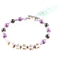 HOTI Hemp Handmade Stoner Light Pale Purple Hemp Square Wood Cube Alphabet Brown Natural Beads Purple Black Round Bead Mens Womens Ladies Unisex Word Up Bracelet Hand Crafted Made in Toronto Made in Ontario Made in Canada Beaded Wood Beads Square Beads 420 Alligator Clip Roach Clip Marijuana Cannabis Clip It Clip Toronto Ontario Canada Canadian
