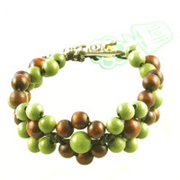 HOTI Hemp Handmade Floral Bouquet Black Hemp Brown Green Wood Beads Round Bead Womens Ladies Flower Power Bracelet Metal Hollow Petal Charm Hand Crafted Made in Toronto Made in Ontario Made in Canada Beaded Wood Beads Flowers Round Beads 420 Alligator Clip Roach Clip Marijuana Mary Jane Cannabis Clip It Clip Toronto Ontario Canada Canadian