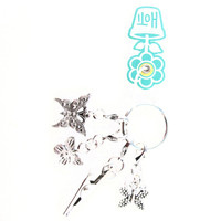 HOTI Handmade Beautiful Butterfly Keyfinder Keychain Roach Clip Key Chain Butterflies Antique Silver Pewter Metal Charm Ladies Womens Charms Charming Collection Made in Canada Hand Crafted Made in Toronto Made in Ontario Lobster Clasps Clip 420 Cannabis Marijuana Clip-It Alligator Clip Clasp Toronto Ontario Canada Canadian