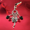 HOTI Hemp Handmade Black Red Glass Hearts Charms Silver Metal Flying Winged Fairy Charm Angel Pendant Roach Clip Heart Beads Love Soars Rocks Chandelier Made in Canada Hand Crafted Made in Toronto Made in Ontario Valentine Fantasy Clip-It 420 Marijuana Cannabis Weed Alligator Clip Rock Ladies Women's Toronto Ontario Canada Canadian Made