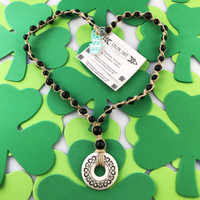 HOTI Hemp Handmade Hearts Celtic Art Annulus Porcelain Heart Love Pendant Donut Black Wood Beads Natural Hemp Beaded Ladies Women's Collection Knotted Round Bead Necklace Y Shaped Touchstone Pottery Spiral Twisted Hand Crafted Made in Toronto Made in Ontario Made in Canada Boho Chic Beaded Toronto Ontario Canada Canadian Made