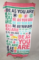 Be As You Are Sunshine Seashells Fish Big Beach Towel