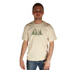 Life is Good Peace Out Cream Men's Tee Good Karma T-Shirt Jake Trees Forest Outdoors Organic Mens Top