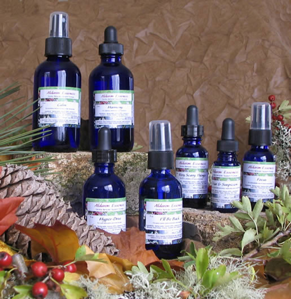 Aldaron Essences flower remedy blends for dogs. Relieve canine stress, fear, reactivity, separation anxiety and more with our all-natural flower remedies.