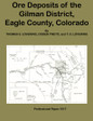 Ore Deposits of the Gilman District Eagle County Colorado