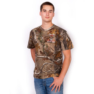 Russell Outdoor Realtree Camo Logo Shirt