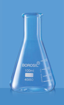 Borosil Narrow Neck Erlenmeyer Flask