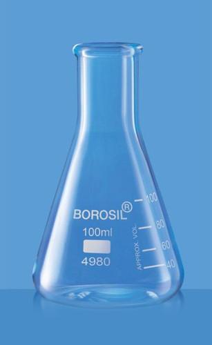 Borosil Narrow Neck Erlenmeyer Flask