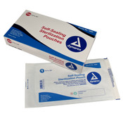 "Self-Sealing Sterilization Pouches, 7 1/2"" by 13"", Box of 200"