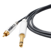 EVOLUTION Straight RCA Tattoo Cord - BLACK