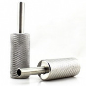 Electrum Traditions Stainless Steel Grip Tube Combo - 22mm - 7/8""