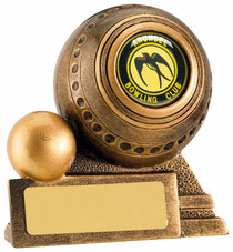 LAWN BOWLS BALL AND JACK AWARD