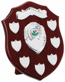 MAHOGANY 7 YEAR PRESENTATION SHIELD