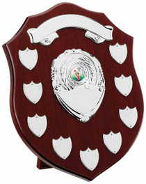 MAHOGANY 9 YEAR PRESENTATION SHIELD