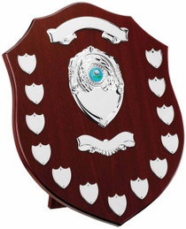MAHOGANY 13 YEAR PRESENTATION SHIELD