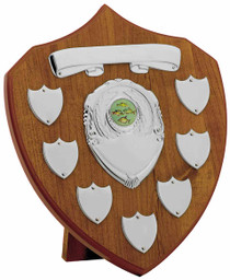 MAPLE 7 YEAR PRESENTATION SHIELD