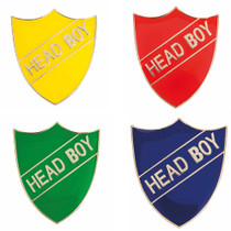 HEAD BOY ENAMEL SHIELD BADGE
