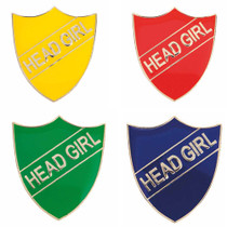 HEAD GIRL ENAMEL SHIELD BADGE