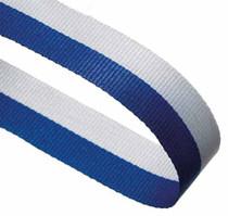 BLUE & WHITE RIBBON