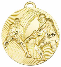 CRICKET BATSMAN AND FIELDER MEDAL