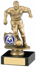 ANTIQUE GOLD FOOTBALLER AWARD