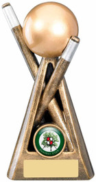 SNOOKER CUE AND BALL AWARD