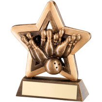 TEN PIN BOWLING STAR AWARD