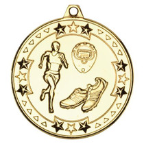 Running Athletics Medal