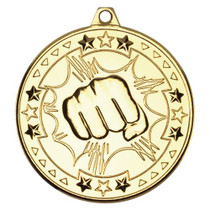 MARTIAL ART FIST MEDAL