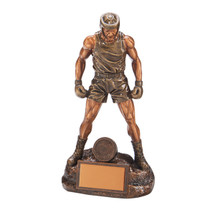 detailed ultimate boxing figure trophy in 4 superb sizes