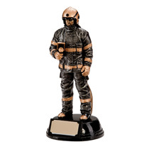 Motion Extreme Fire Fighter Resin Award affordable value cheapest trophy