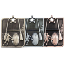 Centurion Star Rugby league union 3D die cast budget cheapest best price medals