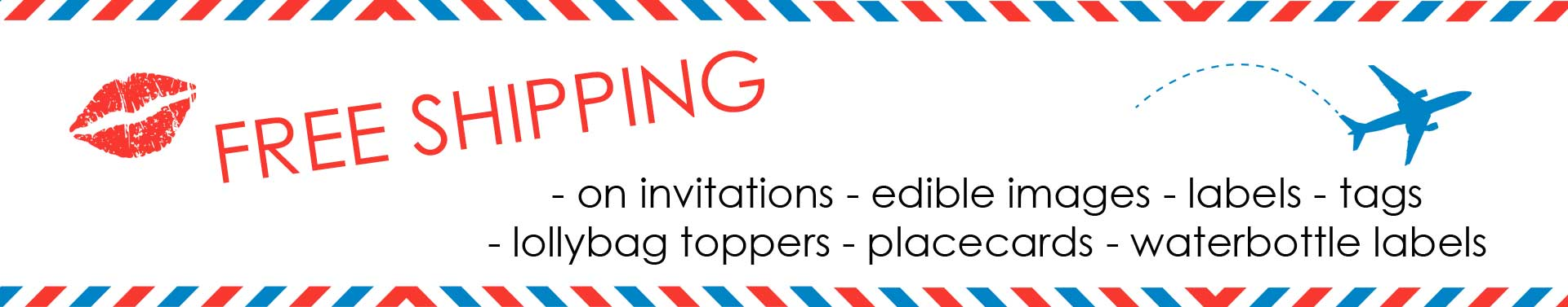 Free Shipping on Invitations