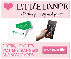 Little Dance Invitations