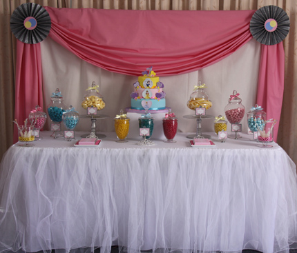 Disney Princess Themed Party