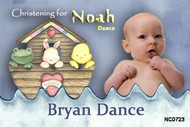 Noahs Ark Christening Baptism & Naming Day Invitations